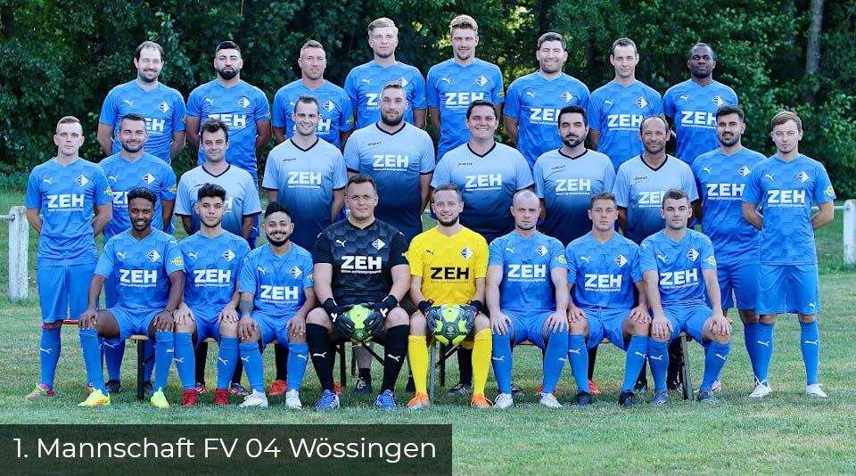 1. Mannschaft FV 04 Wössingen
